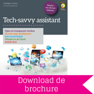 Download brochure Tech-Savvy Assistant