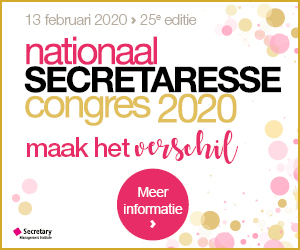 Nationaal Secretaresse Congres 2020