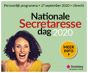 Nationale Secretaresse Dag 2020