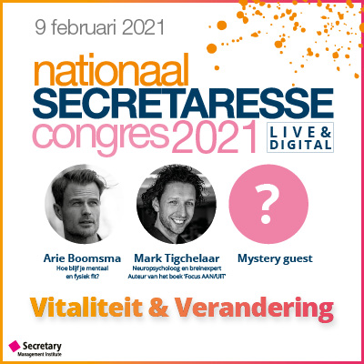 Nationaal Secretaresse Congres 2021